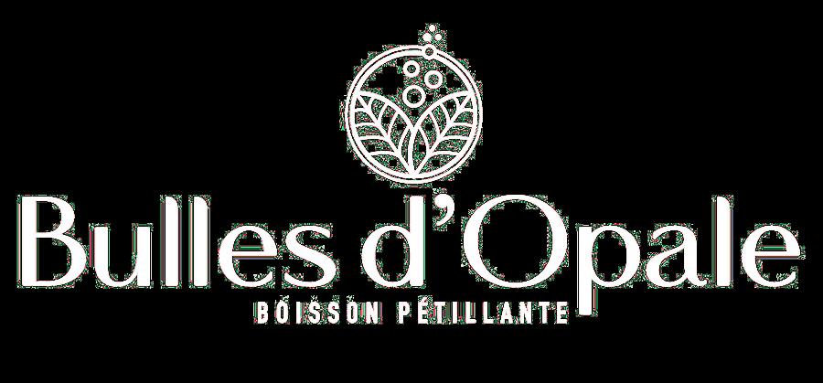 Bulles d'Opale, logo blanc