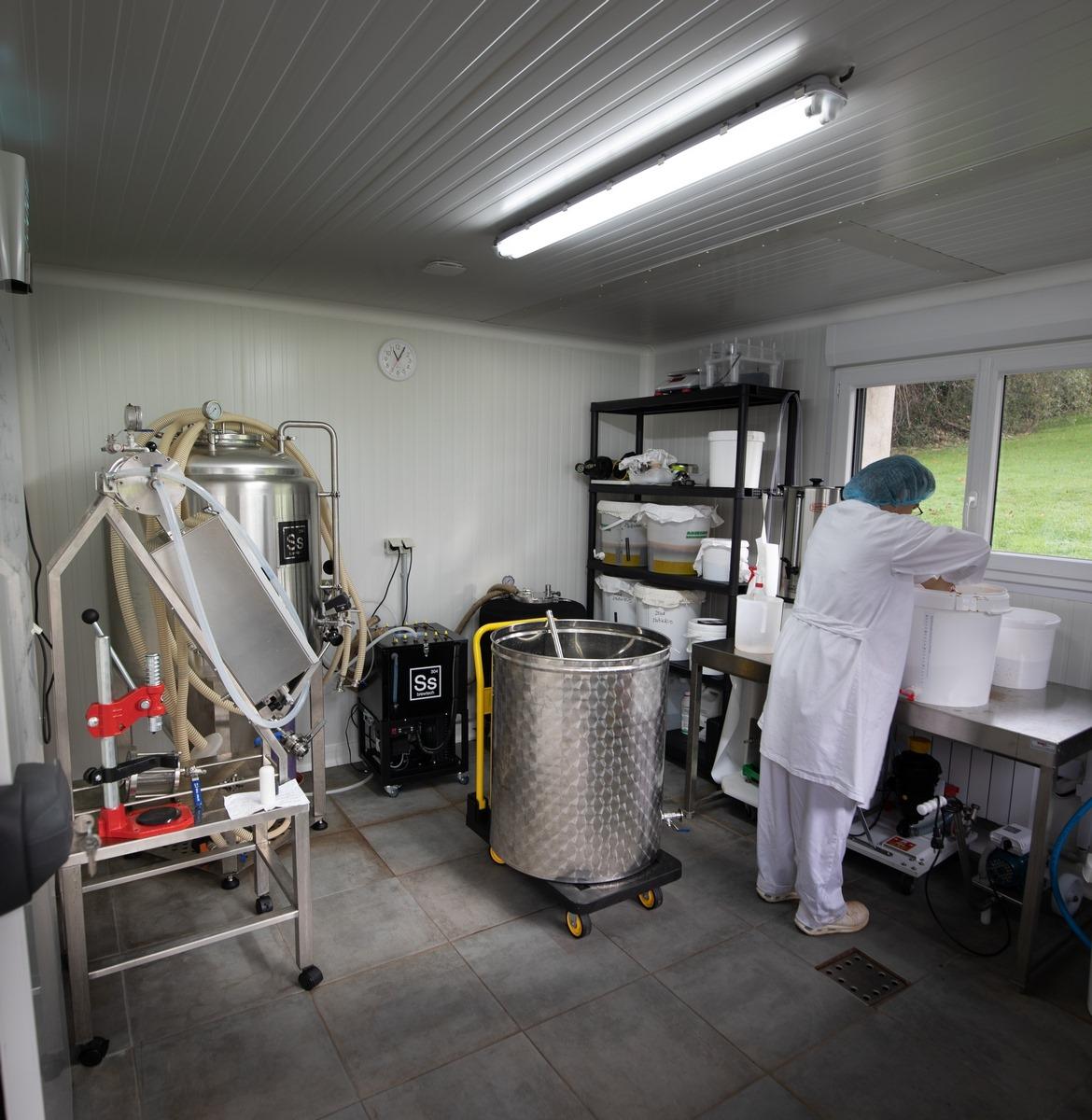 Bulles d'Opale, laboratoire Pernes-les-Boulogne, microbrasserie artisanale kombucha bio