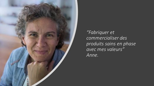 Anne Savignard, Bulles d'Opale, fabrication de kombucha bio