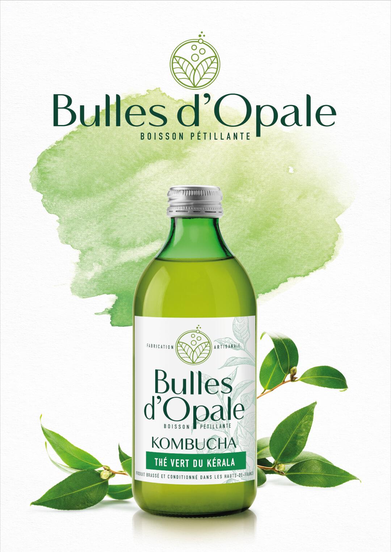 Thé vert du Kérala, Kombucha bio Bulles d'Opale